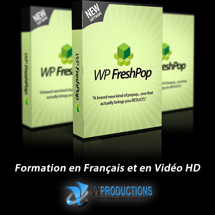 WP Fresh Pop en français