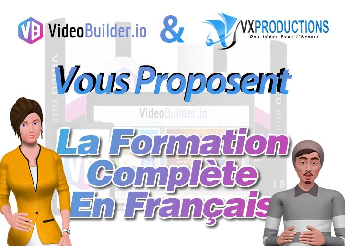 VideoBuilder en français