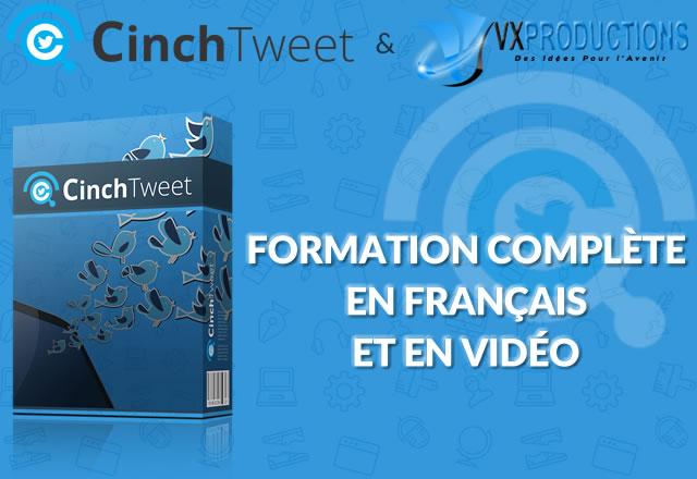 CinchTweet bonus en francais